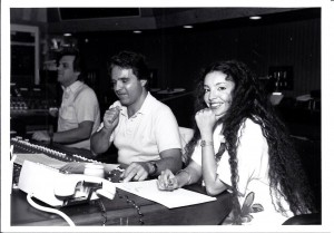 Vanina Aronica and Charles Callelo - Album Recording The Sound of Time - Los Angeles