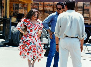 Vanina Aronica- Shooting of Carmen's video - Los Angeles