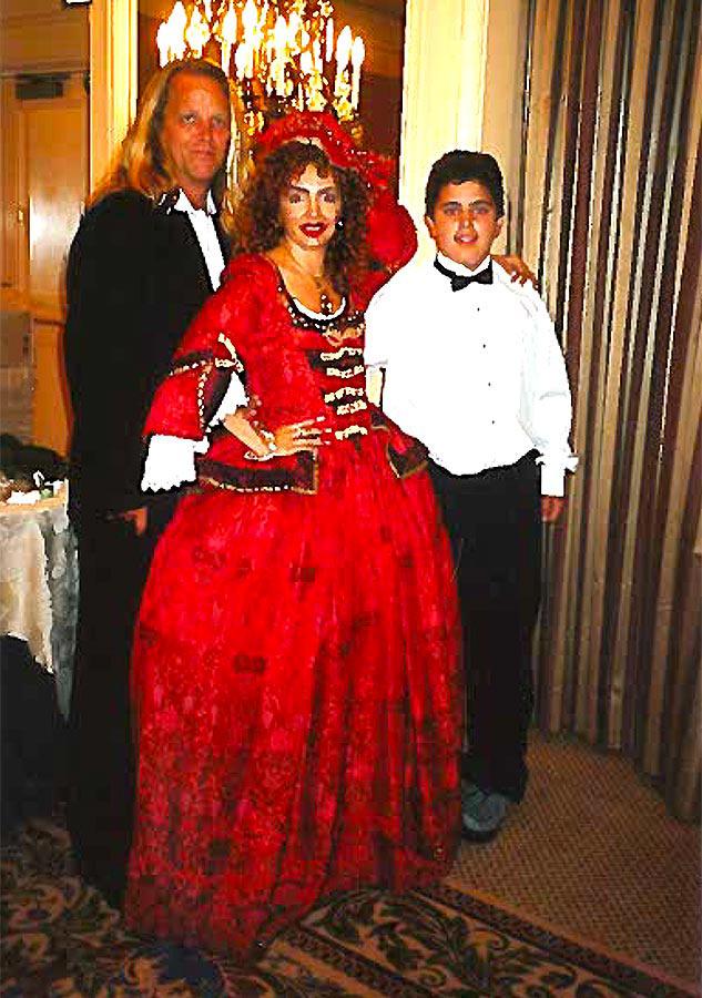 Vanina Aronica & Mark Spiro at the Venitian Ball - Beverly Hills