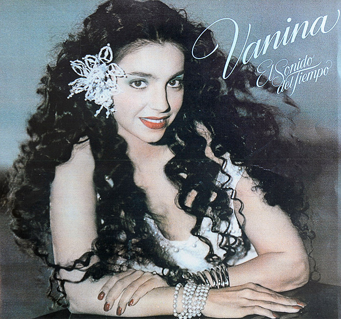 Vanina Aronica - Album The Sound of Time, cover – Los Angeles