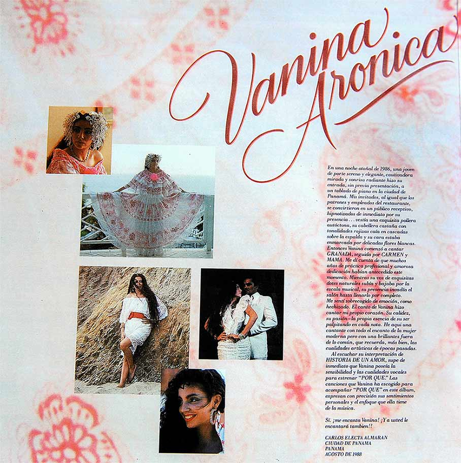 Vanina Aronica - AlbumThe Sound of Time, inside p2 – Los Angeles