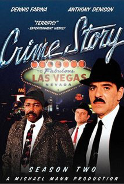 Crime Story : serie poster