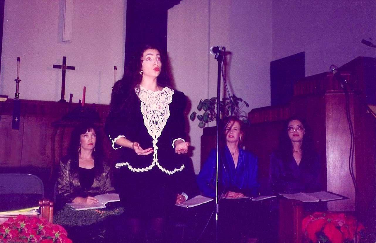 Vanina Aronica- Christmas concert - Los Angeles