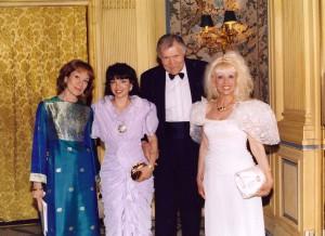 Vanina Aronica & the Professeur Cabrol- Gala of Golden Lily - Paris