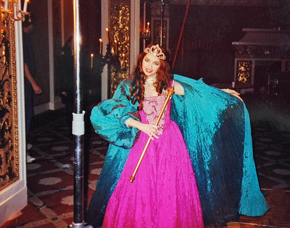 Vanina Aronica- Album VANINA, shooting of Self Control's video p1