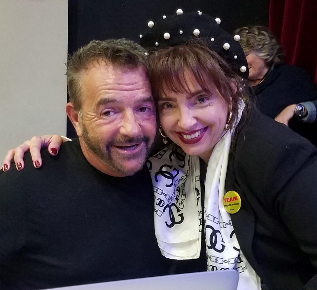 Photo Vanina Aronica et Bruno Berberes Directeur de Sasting The Voice