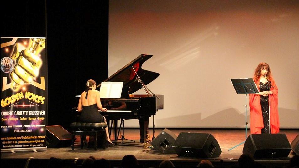 Photo Vanina Aronica concert de Golden Voices