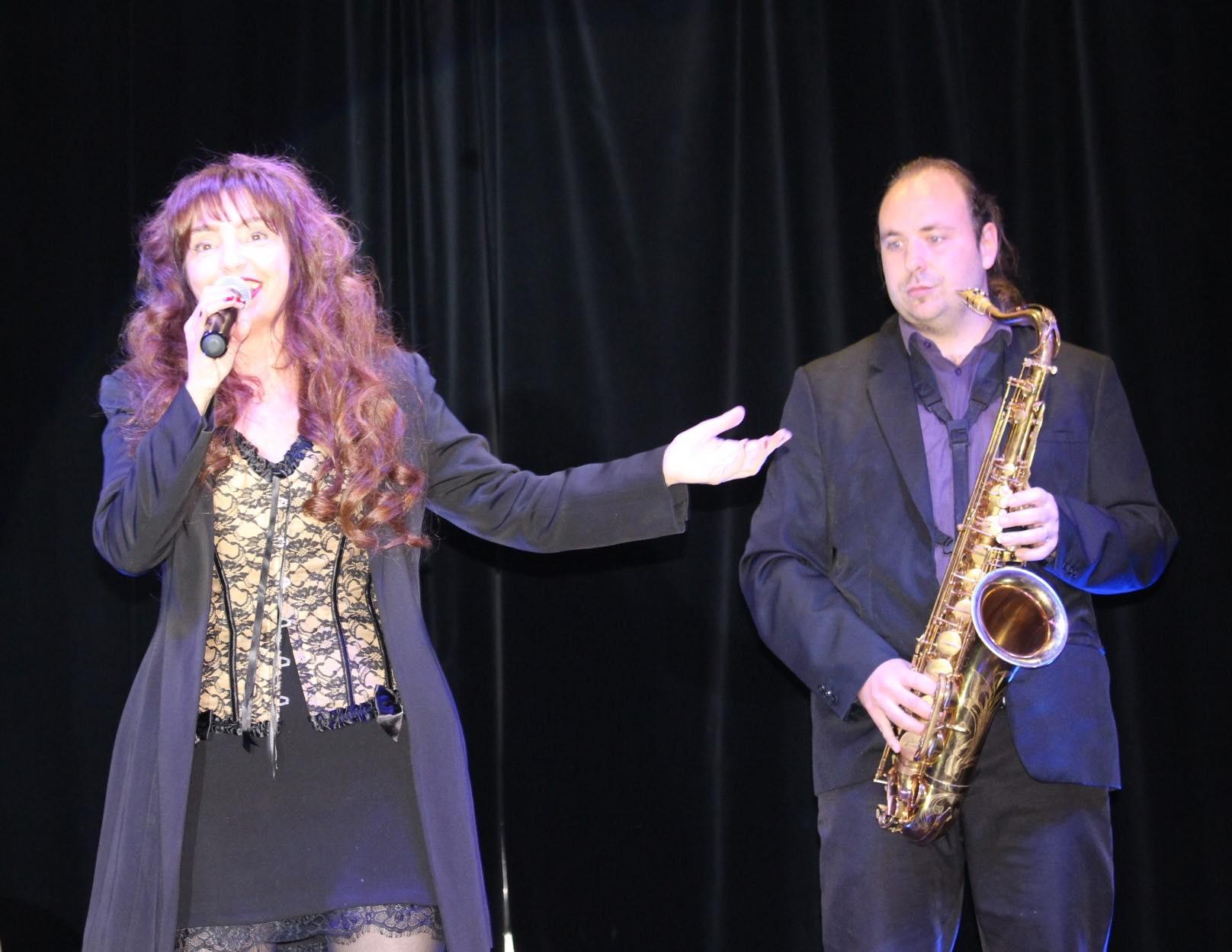 Photo Vanina Aronica concert de Jazz Opéra