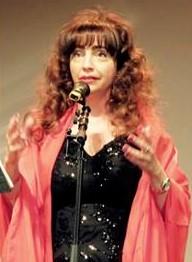 Photo Vanina Aronica on stage