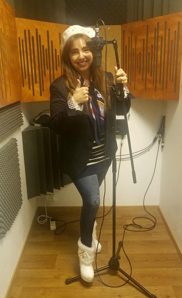 Photo Vanina Aronica enregistre son album